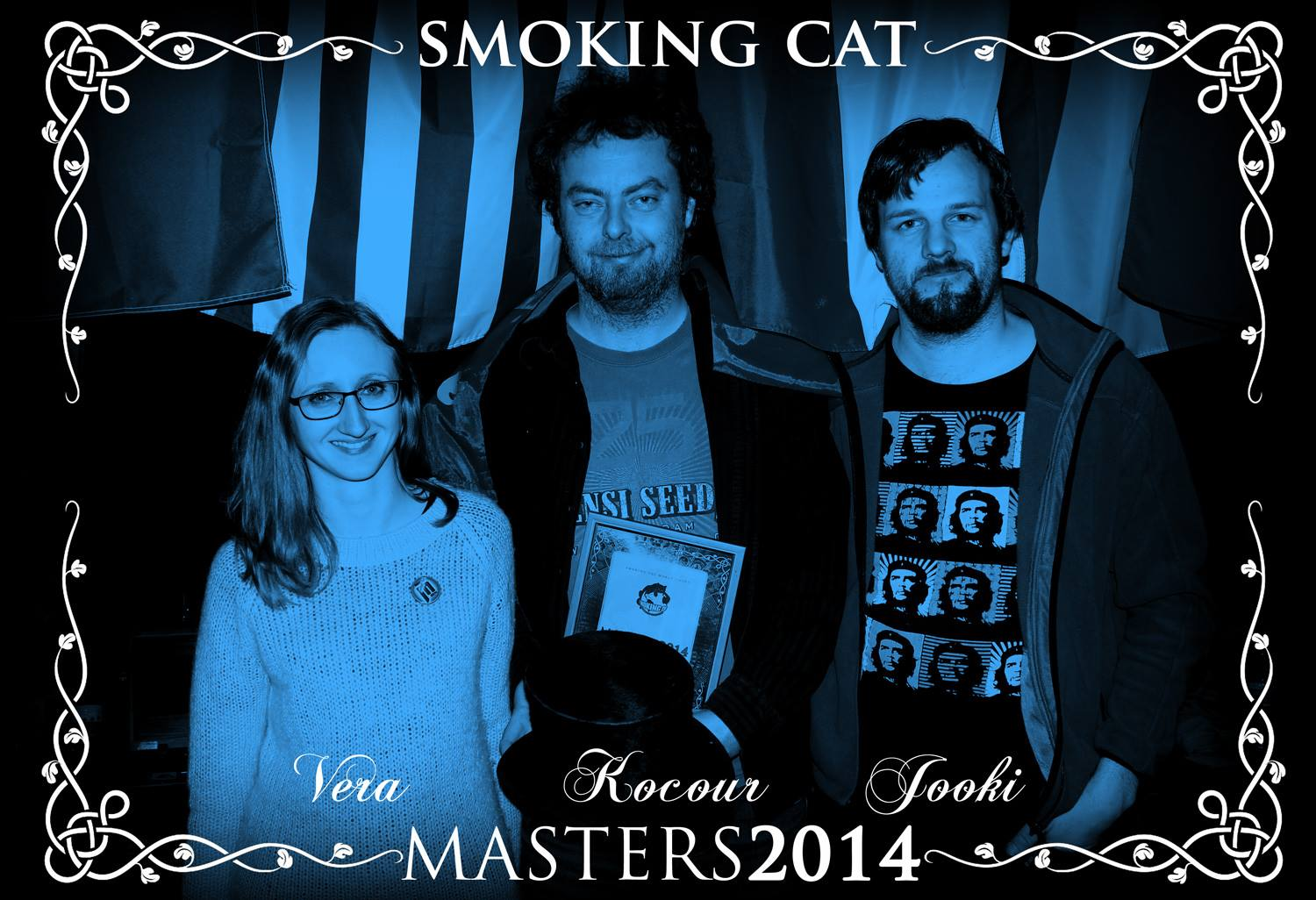 Winners of Smoking Cat Masters 2014